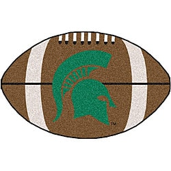 Fanmats NCAA Michigan State University 22x35 Football Mat