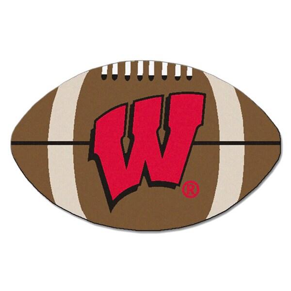 Fanmats NCAA University of Wisconsin Football Mat