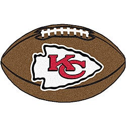 Fanmats NFL Kansas City Chiefs Football Mat