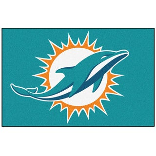 Fanmats NFL Miami Dolphins 20x30-inch Starter Mat