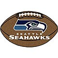 Fanmats NFL Seattle Seahawks 22x35 Football Mat