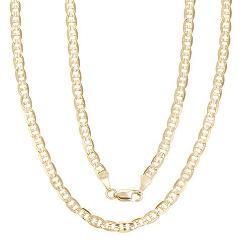 Simon Frank Gold Overlay 18-inch Gucci-style Necklace