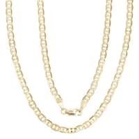 Simon Frank 14k Gold Overlay 18-inch Gucci-style Necklace