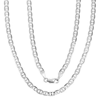 Simon Frank Rhodium Silvertone 18-inch Gucci-style Necklace