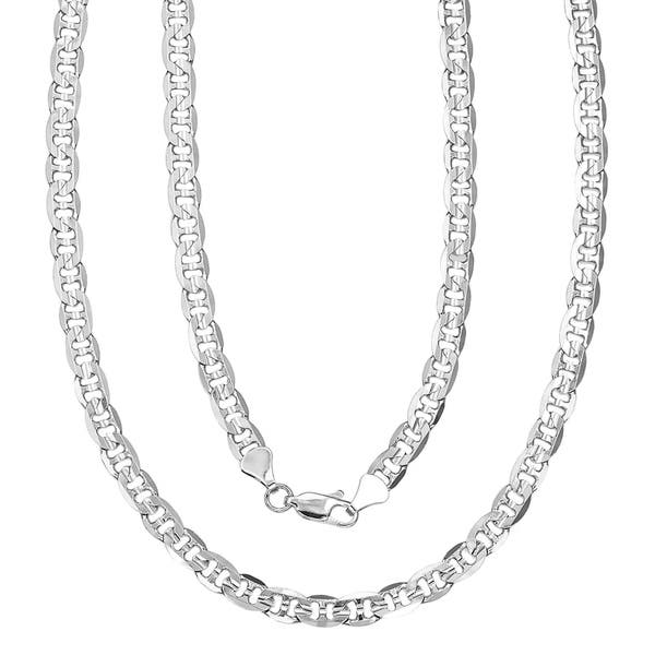 d1bdacc62666c Shop Simon Frank Silver Overlay 18-inch Gucci-style Necklace - On ...