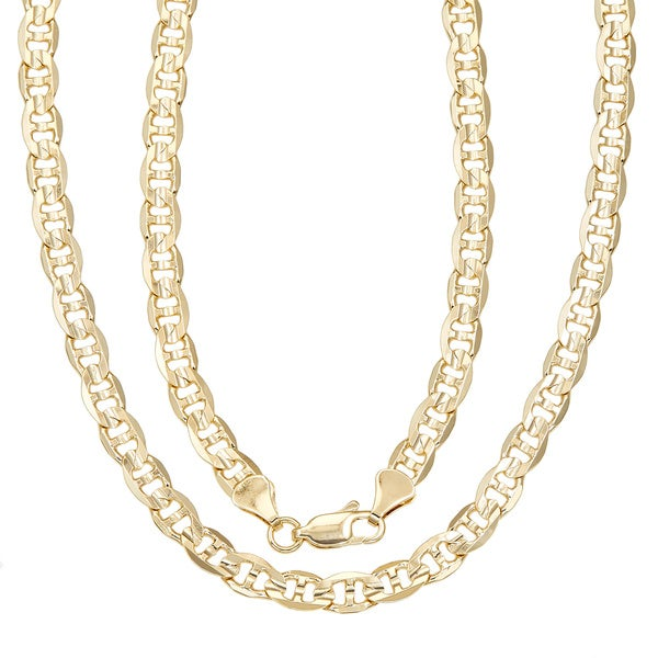 Simon Frank 14k Gold Overlay 20-inch Gucci-style Necklace