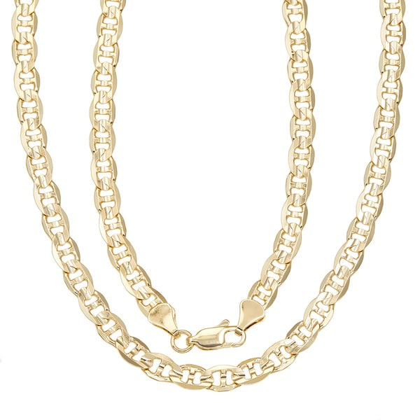 4081821cd8a2b Shop Simon Frank Gold Overlay 20-inch Gucci-style Necklace - On Sale ...