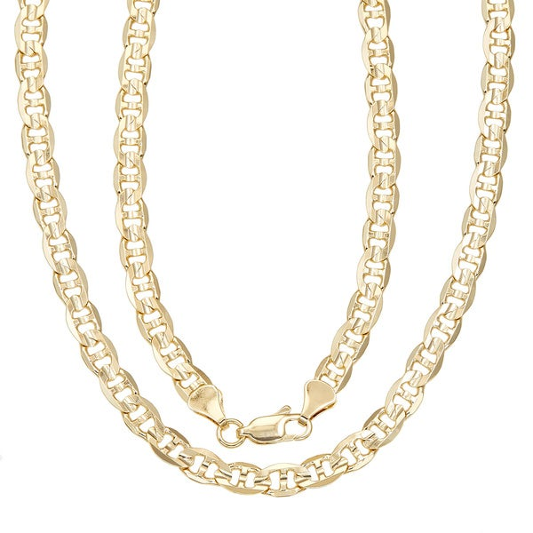 Shop Simon Frank Gold Overlay 20-inch Gucci-style Necklace