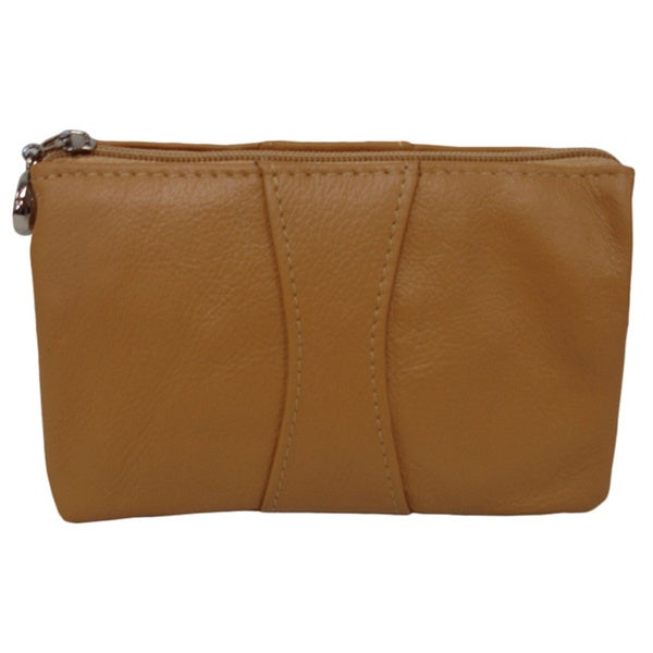 Amerileather Mini Zip Wristlet