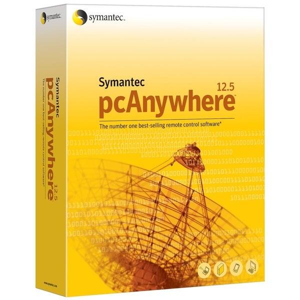 Symantec pcAnywhere v.12.5 Host - Complete Product - 1 User - Standar