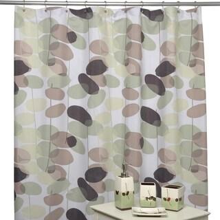 Olivia Shower Curtain and Bath Accessory 5-piece Set