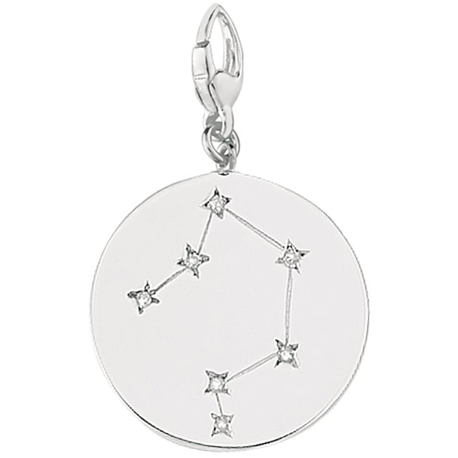 Sterling Silver Libra Charm