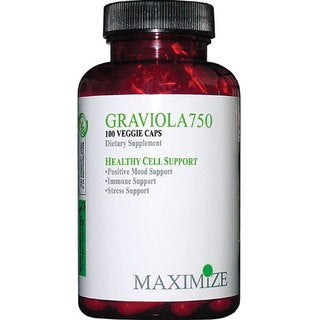 Maximum International Graviola750 Supplement