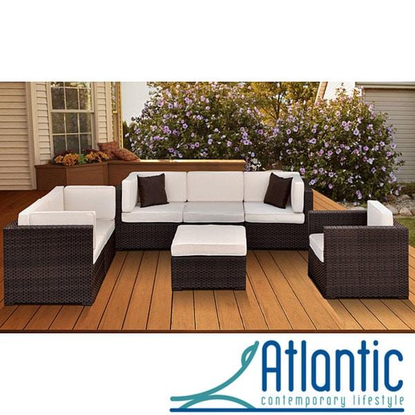 Atlantic Patio Furniture Reviews: Shop Atlantic Naples 7-piece Pation Furniture Set