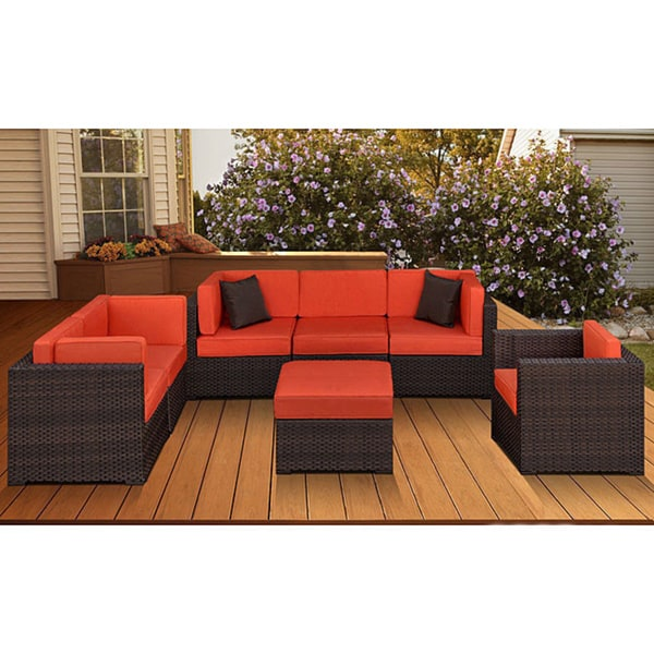Shop Atlantic Naples 7 Piece Patio Furniture Set