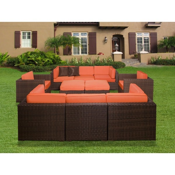 Wonderful Atlantic Milano 10 Piece Patio Furniture Set