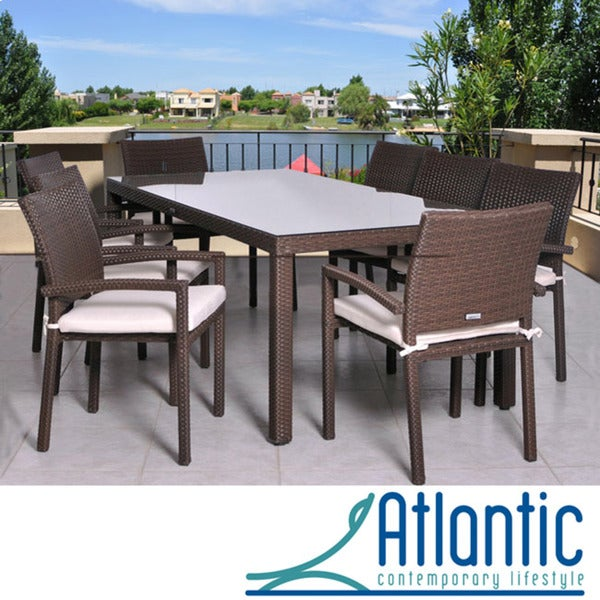 Atlantic Grand Liberty 9 Piece Patio Dining Set