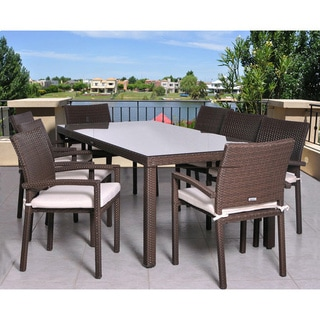 Atlantic Grand Liberty 9 Piece Patio Dining Set   Free Shipping Today    Overstock.com   11547885