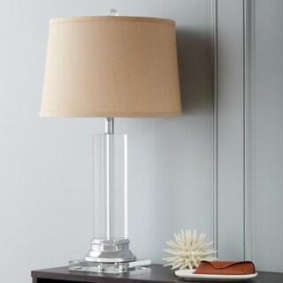 Crystal Column Table Lamp w/ Tan Shade|https://ak1.ostkcdn.com/images/products/3478273/P11549000.jpg?_ostk_perf_=percv&impolicy=medium