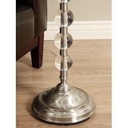 Silver Orchid Endless Sphere Nickel Metal Floor Lamp Overstock 3478274