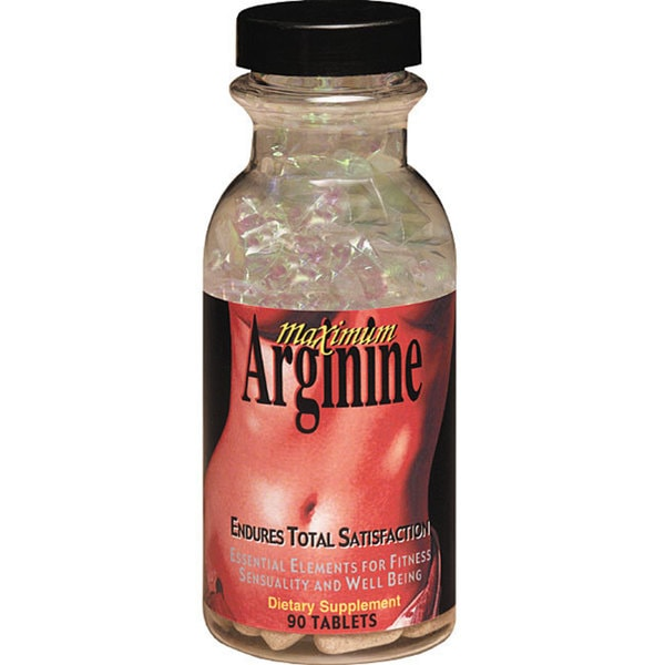 Maximum International Maximum Arginine Supplement