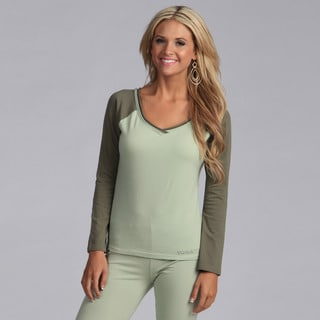 Yogacara Women's Wide-neck Top