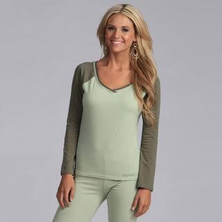 Yogacara Women's Wide-neck Top|https://ak1.ostkcdn.com/images/products/3478617/3478617/Yogacara-Womens-Wide-neck-Top-P11549339.jpg?impolicy=medium