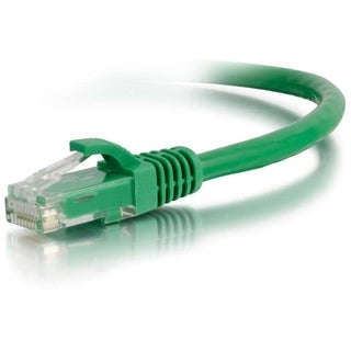 C2G 35ft Cat6 Snagless Unshielded (UTP) Network Patch Cable - Green