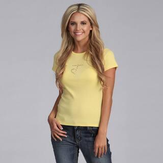 Yogacara Women's Chakra #3 Solar Plexus T-shirt (Option: Yellow)|https://ak1.ostkcdn.com/images/products/3480650/3480650/Yogacara-Womens-Chakra-3-Solar-Plexus-T-shirt-P11550994.jpg?impolicy=medium