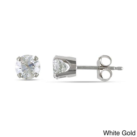 Miadora Signature Collection 1ct TDW Diamond Stud Earrings in 14k Gold