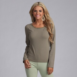 Yogacara Women's Contrast Stitched Neck Top