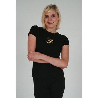 Yogacara Women's 'Om' T-shirt