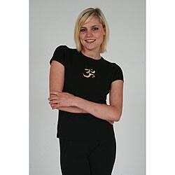 Yogacara Women's 'Om' T-shirt https://ak1.ostkcdn.com/images/products/3481509/Yogacara-Womens-Om-T-shirt-P11551658.jpg?impolicy=medium