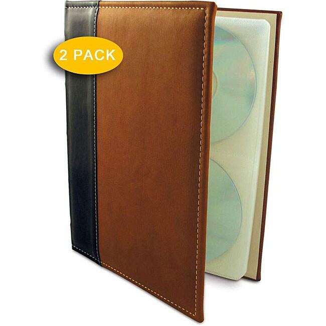 Handstands CD/DVD Storage Binder (Pack of 2)