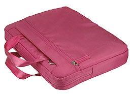 Pinder Bags Pink Nylong 13.3-inch Laptop Sleeve