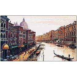 Hava 'Venice' Canvas Art