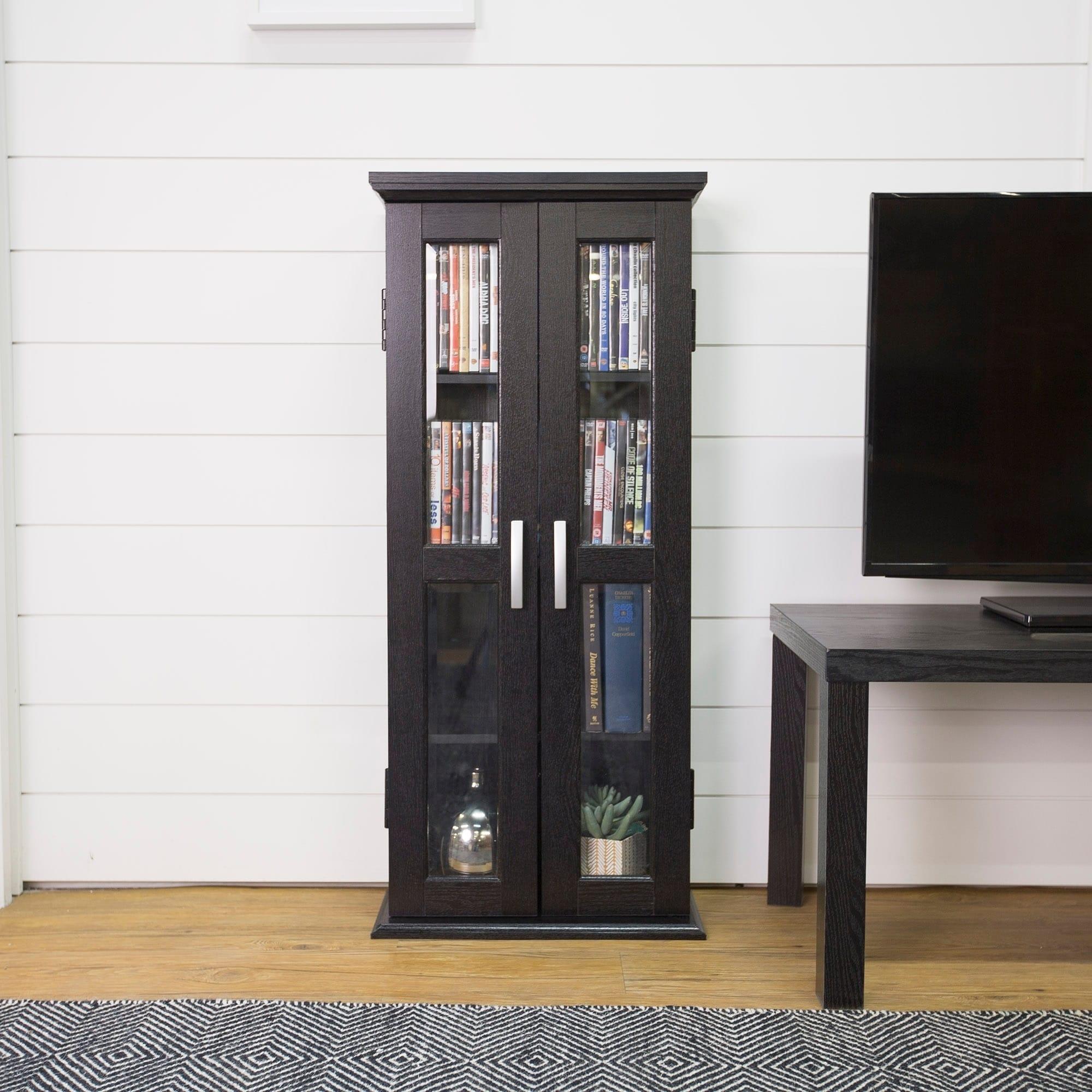 Uncategorized Contemporary Media Storage contemporary media storage cabinet tower black bookshelves organizer wood frame