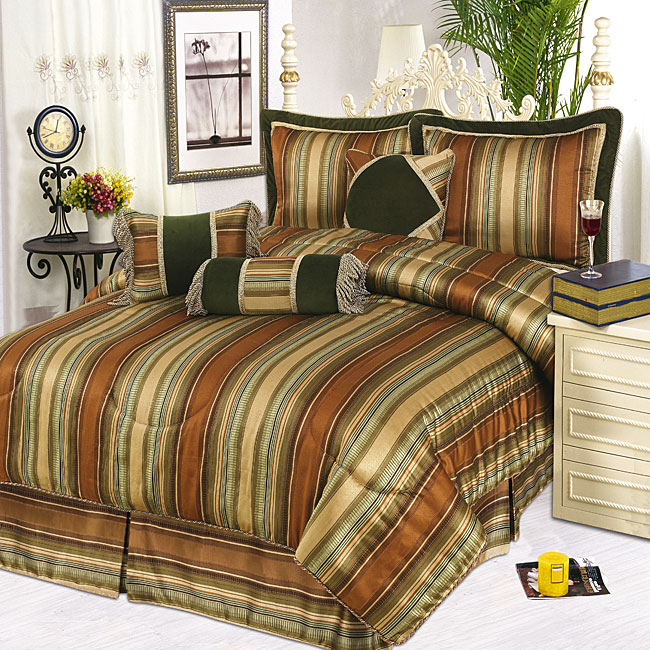 Kelly Stripe 3-piece Throw Pillow Set