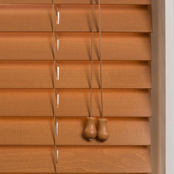 Customized 34inch Real Wood Window Blinds Free Shipping Today