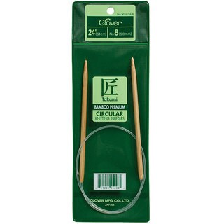 Clover Bamboo Size 4 24-inch Circular Knitting Needles