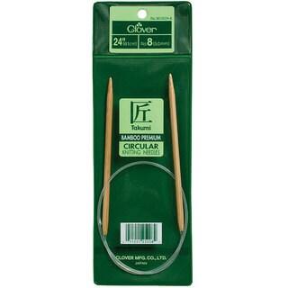 Clover Bamboo Size 7 24-inch Circular Knitting Needles