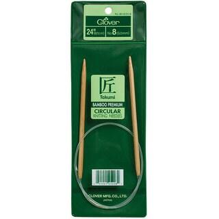 Bamboo Size Nine 24-inch Circular Knitting Needles
