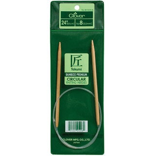 Bamboo Size 10 24-inch Circular Knitting Needles