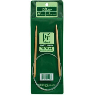 Bamboo Size 10.5 24-inch Circular Knitting Needles