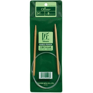 Bamboo Size 13 24-inch Circular Knitting Needles