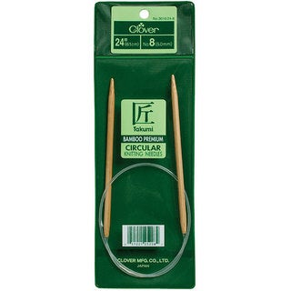 Clover Size 11 24-inch Circular Knitting Needles