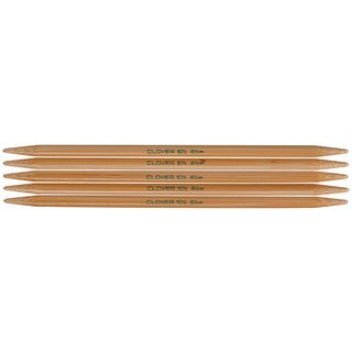 Bamboo Size 1 7-inch Double-point Knitting Needles (Pack of 5)