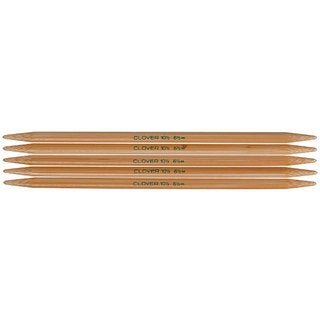 Clover Bamboo Size 10.5 Double-pointed Knitting Needles