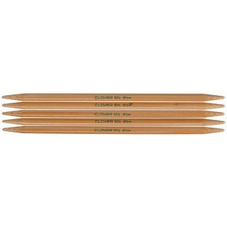 Clover Bamboo Size 9 Double-pointed Knitting Needles
