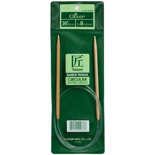 Bamboo Circular 36-inch Size 11 Knitting Needles